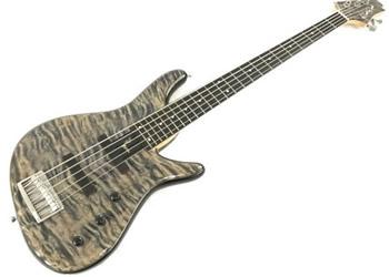 スギギター(Sugi Guitars):エレキベース NB5E EM/A-MAHO 2p LVB