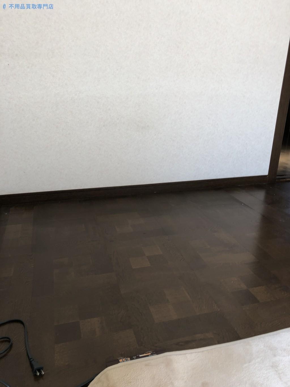 【綾歌郡綾川町】テレビ台買い替えに伴う棚の処分と回収・お客様の声