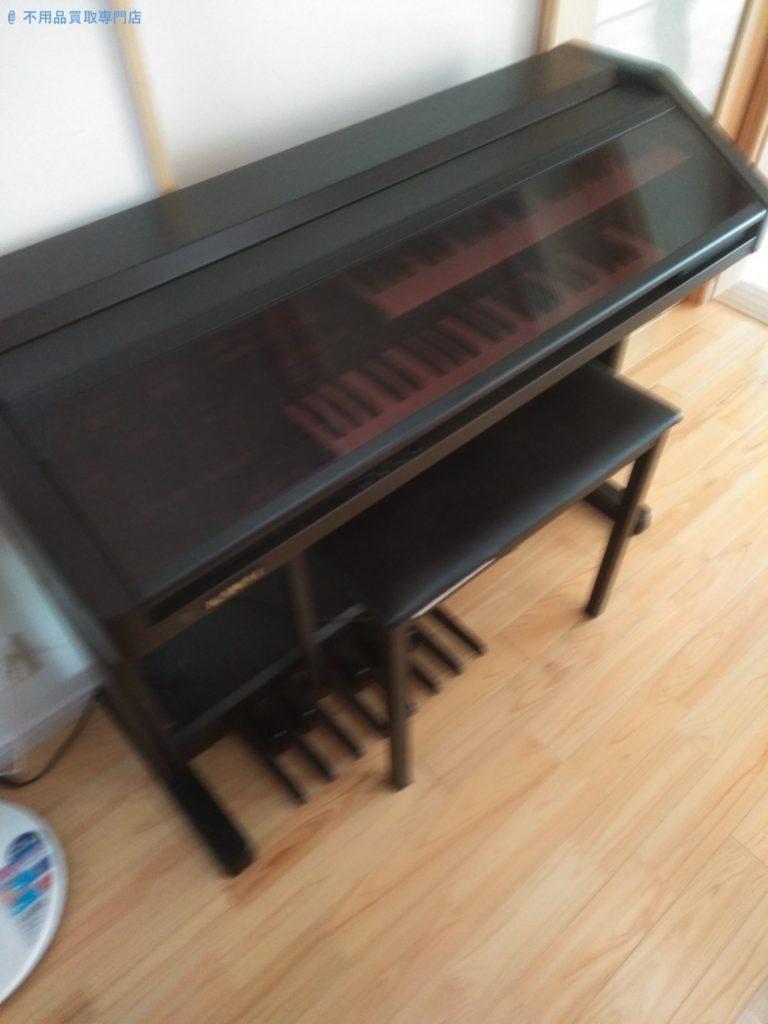 【東かがわ市】電子ピアノと椅子の処分と回収・お客様の声
