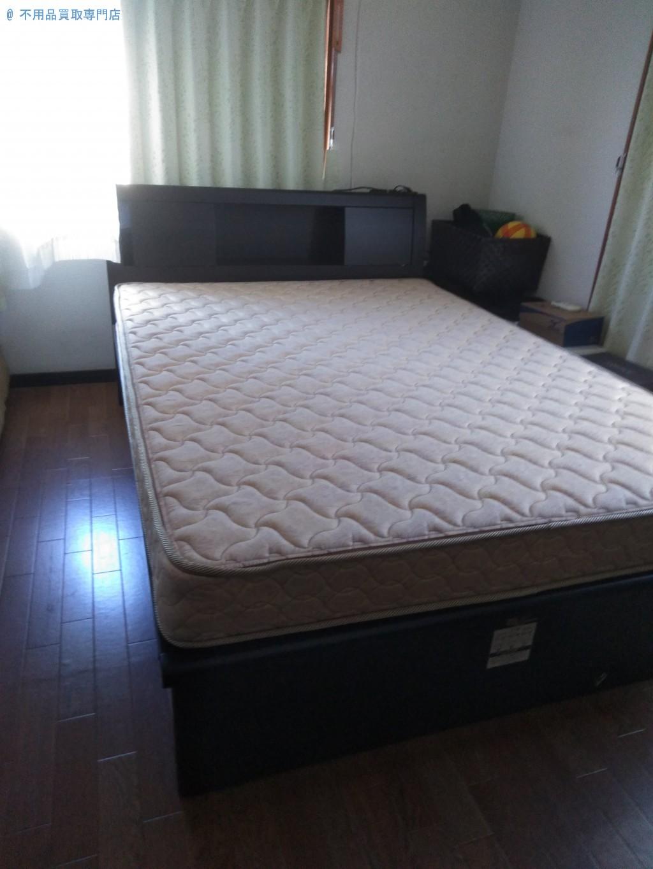 【仲多度郡多度津町】ベッド二台分の処分と回収・お客様の声