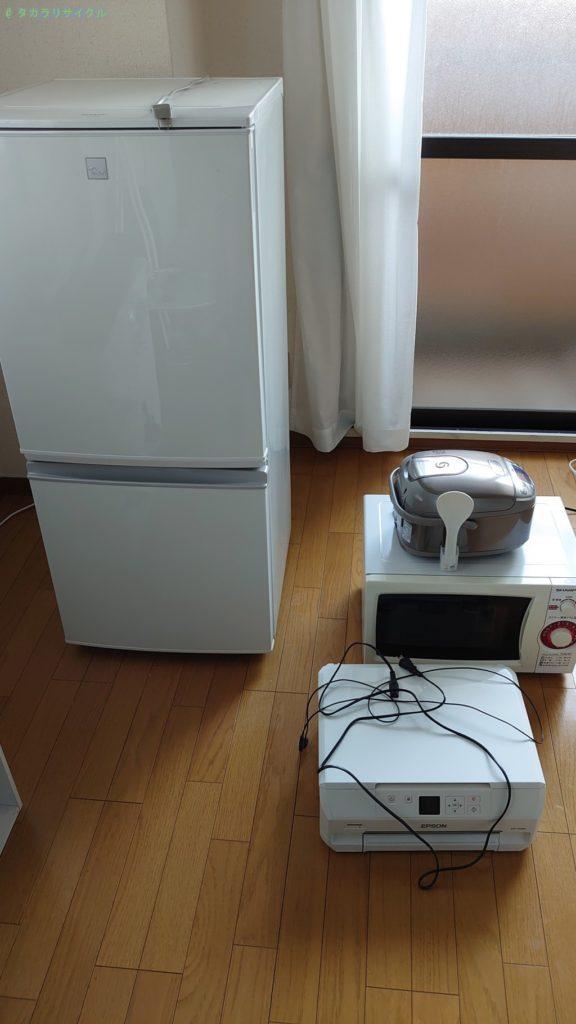 【高松市西宝町】キッチン家電ほか数点の処分・回収のご依頼者さま