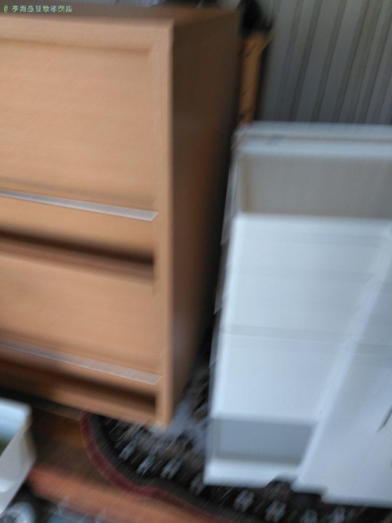 【三豊市詫間町松崎】マガジンラックの処分・回収のご依頼者さま
