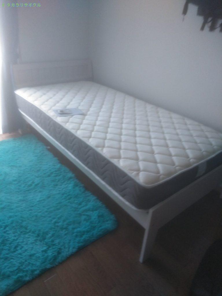 【高松市伏石町】ベッドほか数点の処分・回収のご依頼者さま