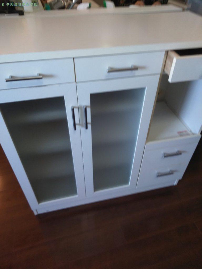 【高松市中央町】食器棚の処分・回収のご依頼者さま