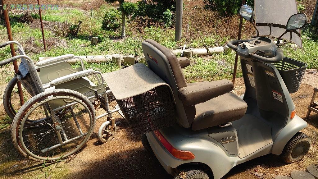 【高松市多肥上町】車椅子・シニアカーの処分・回収のご依頼者さま